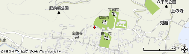 山形県寒河江市慈恩寺880周辺の地図