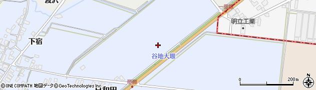 山形県寒河江市日和田日和田周辺の地図