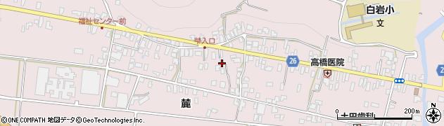 山形県寒河江市白岩320周辺の地図