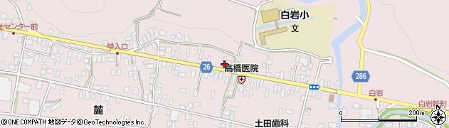 山形県寒河江市白岩236周辺の地図