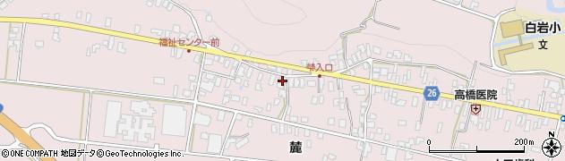 山形県寒河江市白岩356周辺の地図