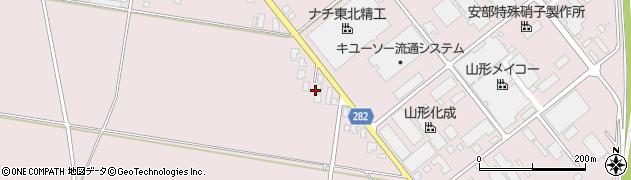 山形県西村山郡河北町谷地月山堂1017周辺の地図