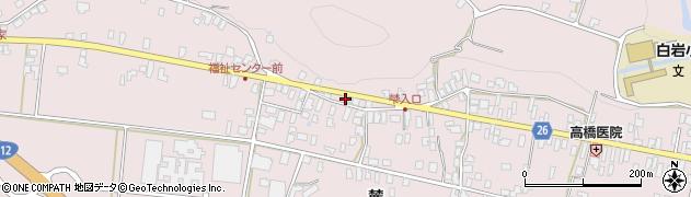 山形県寒河江市白岩344周辺の地図
