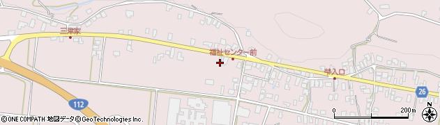 山形県寒河江市白岩426周辺の地図