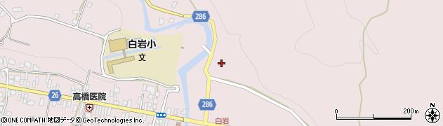 山形県寒河江市白岩51周辺の地図