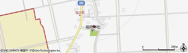 山形県西村山郡河北町西里827周辺の地図
