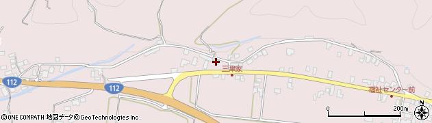 山形県寒河江市白岩557周辺の地図