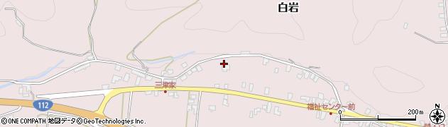 山形県寒河江市白岩499周辺の地図