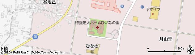 山形県西村山郡河北町谷地月山堂1217周辺の地図