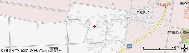 山形県西村山郡河北町西里1082周辺の地図