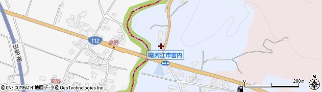 山形県寒河江市宮内171周辺の地図