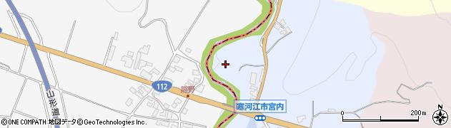 山形県寒河江市宮内セキノ下周辺の地図