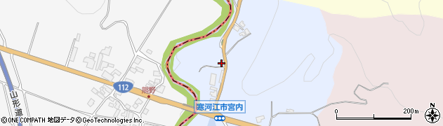 山形県寒河江市宮内175周辺の地図