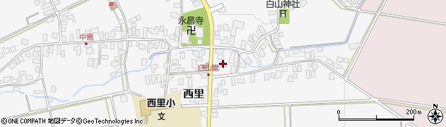 山形県西村山郡河北町西里602周辺の地図