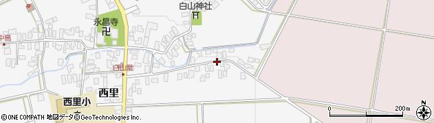 山形県西村山郡河北町西里629周辺の地図