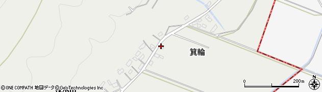 山形県寒河江市箕輪211周辺の地図
