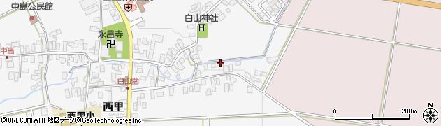 山形県西村山郡河北町西里9周辺の地図