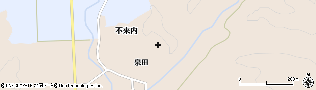泉永寺周辺の地図