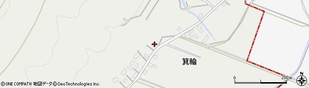 山形県寒河江市箕輪209周辺の地図