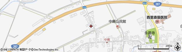 山形県西村山郡河北町西里392周辺の地図