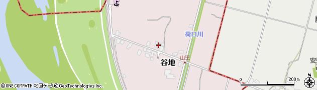山形県西村山郡河北町谷地戊1392周辺の地図