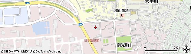 日本製紙アパート周辺の地図