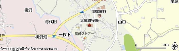 宮城県大郷町(黒川郡)周辺の地図