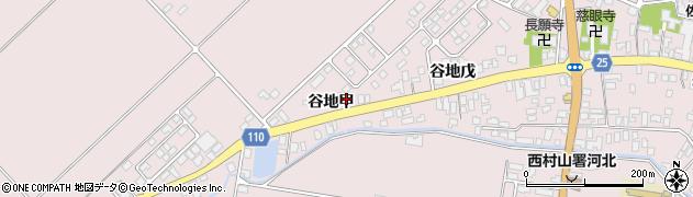 山形県西村山郡河北町谷地戊675周辺の地図