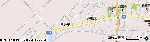 山形県西村山郡河北町谷地十二堂24周辺の地図