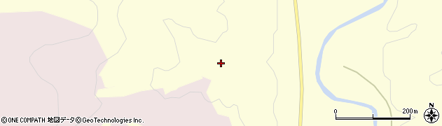 山形県寒河江市留場ク子合周辺の地図
