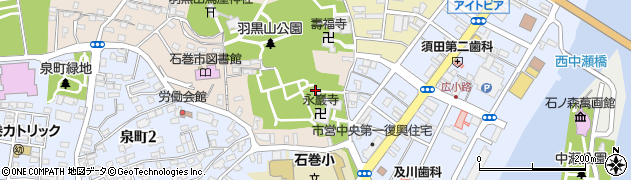 大聖不動明王周辺の地図
