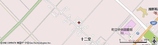 山形県西村山郡河北町谷地十二堂408周辺の地図