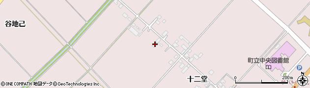 山形県西村山郡河北町谷地十二堂240周辺の地図