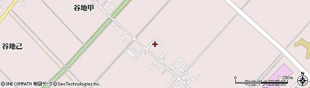 山形県西村山郡河北町谷地十二堂388周辺の地図