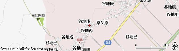 山形県西村山郡河北町谷地丙833周辺の地図