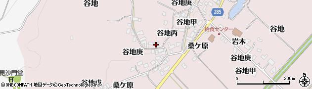 山形県西村山郡河北町谷地戊1104周辺の地図