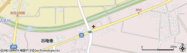 山形県西村山郡河北町谷地東601周辺の地図