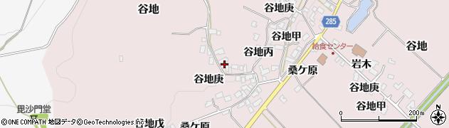 山形県西村山郡河北町谷地戊1105周辺の地図