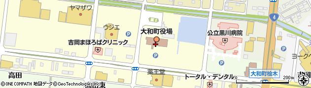 宮城県黒川郡大和町周辺の地図