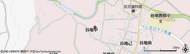 山形県西村山郡河北町谷地己1105周辺の地図