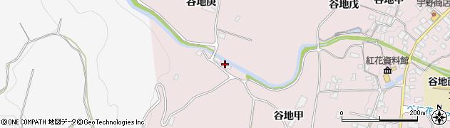 山形県西村山郡河北町谷地己864周辺の地図