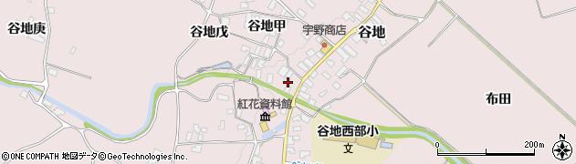 山形県西村山郡河北町谷地戊1180周辺の地図