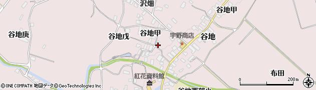 山形県西村山郡河北町谷地戊1184周辺の地図