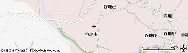 山形県西村山郡河北町谷地戊2223周辺の地図