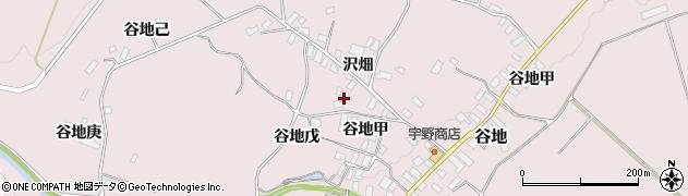 山形県西村山郡河北町谷地戊1252周辺の地図