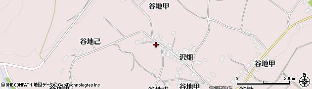 山形県西村山郡河北町谷地戊1247周辺の地図