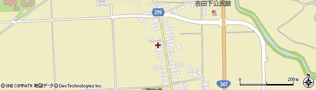 山形県西村山郡河北町吉田57周辺の地図