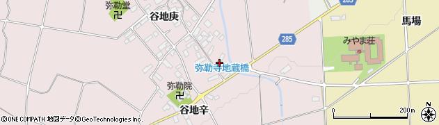 山形県西村山郡河北町谷地庚1106周辺の地図
