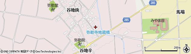 山形県西村山郡河北町谷地庚1105周辺の地図