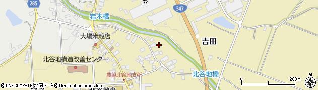 山形県西村山郡河北町吉田下河原周辺の地図